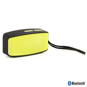PACK AURICULAR+ALTAVOZ NGS GLITTER YELLOW