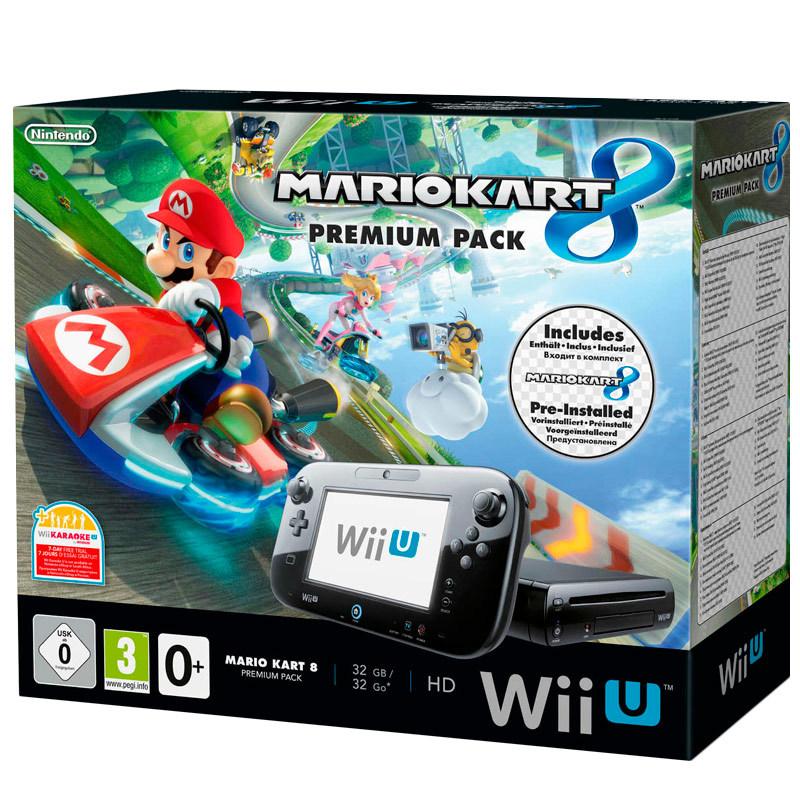 VIDEOCONSOLA NINTENDO WiiU 32GB+MARIO KART 8