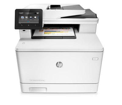 MULTIFUNCION HP LASER COLOR LASERJET PRO M477FNW FAX A4/ 27PPM/ USB/ RED/ ADF/ EPRINT/ RED/ WIFI