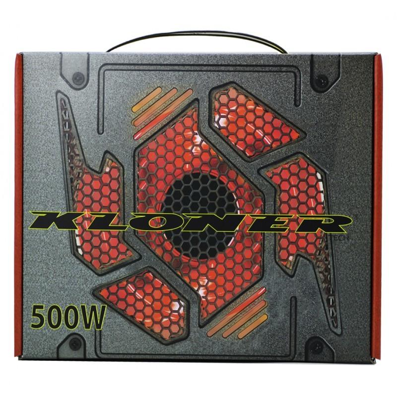 FUENTE ATX 500W KL-TECH VENT. 12CM 80+
