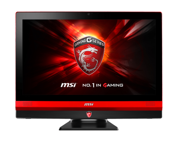 ORDENADOR AIO MSI GAMING 24 6QE-010XES BLACK/RED