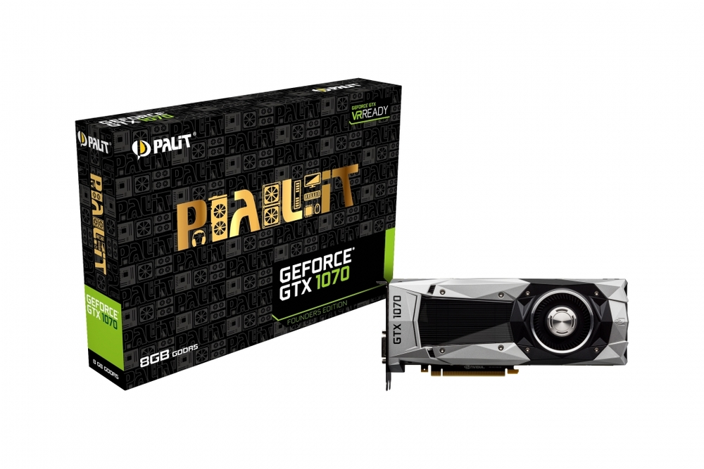 VGA PALIT GTX 1070 FOUNDERS EDITION 8GB GDDR5X