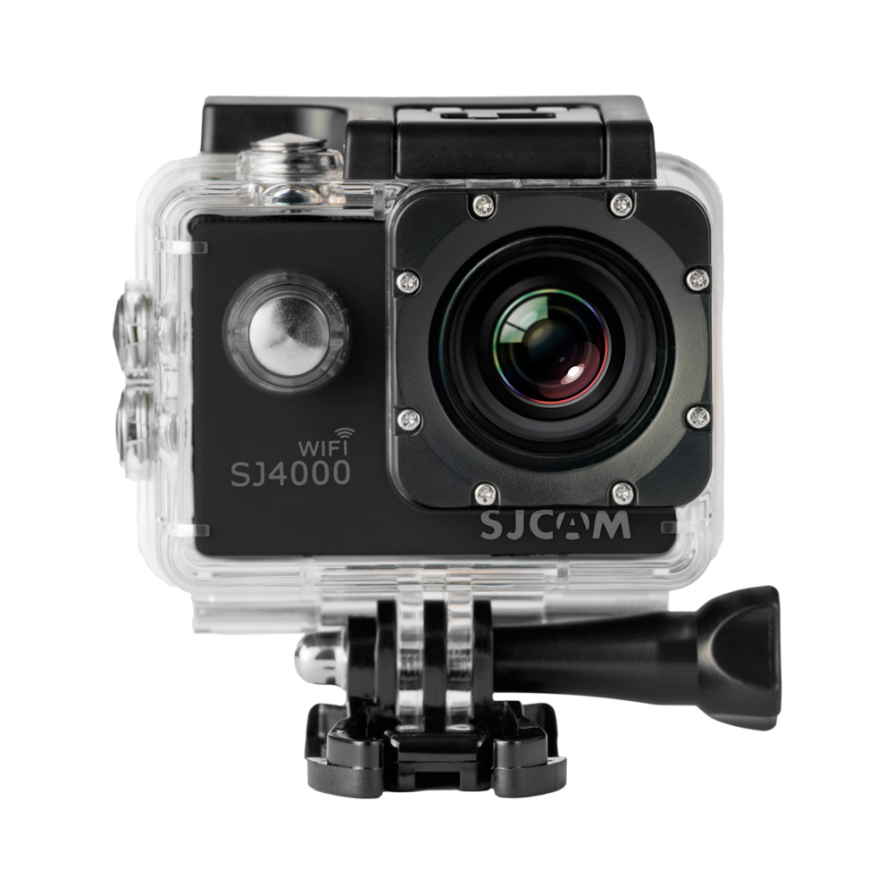 CAMARA VIDEO SJCAM SJ4000 WIFI BLACK V2.0 - 1080P-30FPS/12MPX/LCD 1,5 /INCLUYE ACCESORIOS