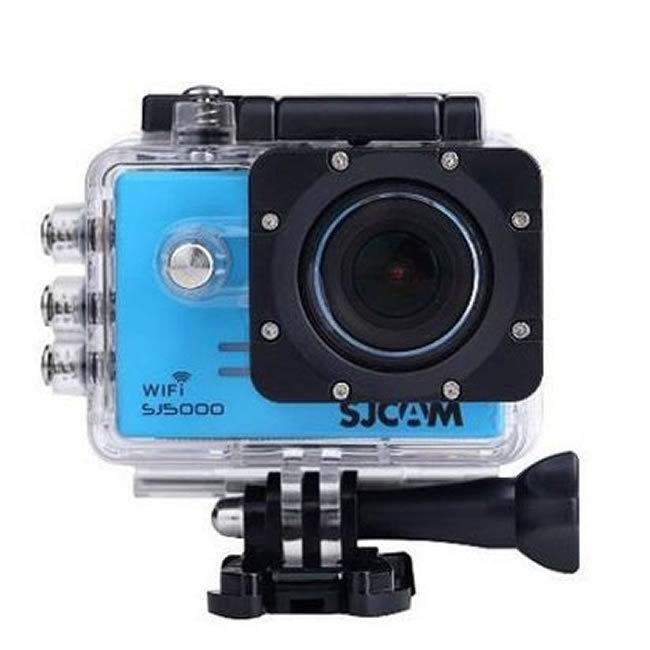 CAMARA VIDEO SJCAM SJ5000 WIFI BLUE V2.0 - 1080P-30FPS/14MPX/LCD 2 /INCLUYE ACCESORIOS