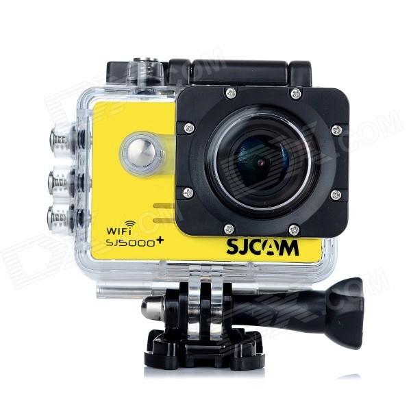 CAMARA VIDEO SJCAM SJ5000+ WIFI YELLOW V2.0
