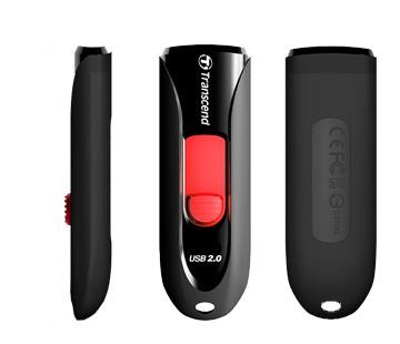 PENDRIVE 16GB USB2.0 TRANSCEND 590 TS16GJF590K