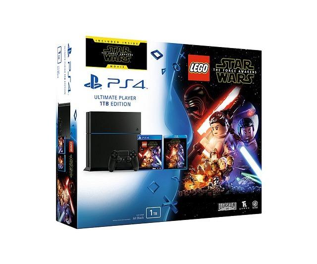 VIDEOCONSOLA SONY PS4 1TB+LEGO STAR WARS+PELICULA