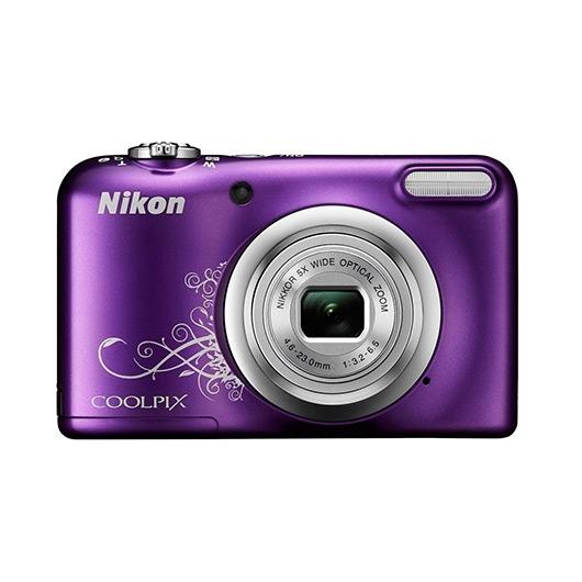 Camara Nikon Coolpix A10 Violeta Arte+Funda