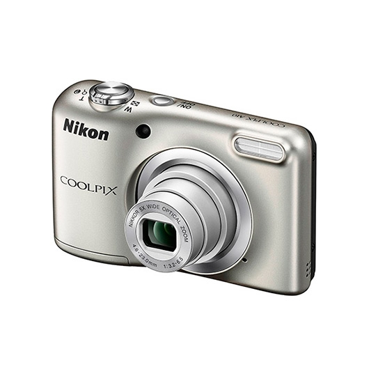 Camara Nikon Coolpix A10 Plata+Funda