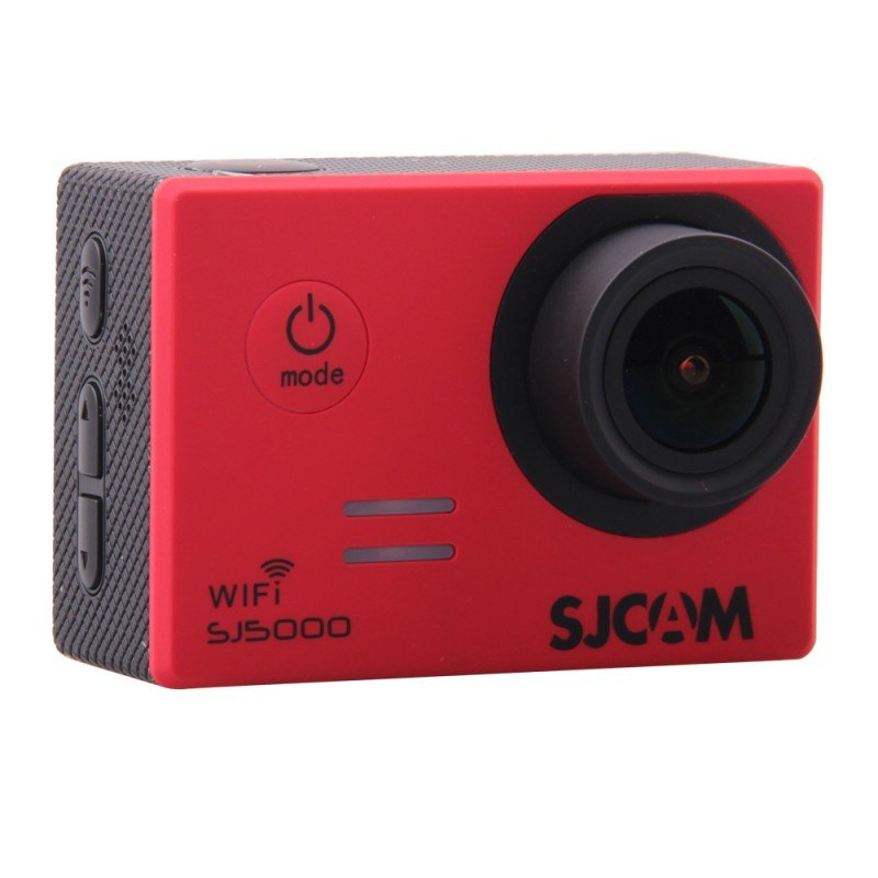 CAMARA VIDEO SJCAM SJ5000 WIFI RED V2.0 - 1080P-30FPS/14MPX/LCD 2 /INCLUYE ACCESORIOS