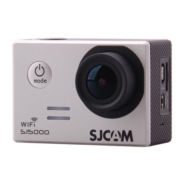 CAMARA VIDEO SJCAM SJ5000 WIFI SILVER V2.0 - 1080P-30FPS/14MPX/LCD 2 /INCLUYE ACCESORIOS