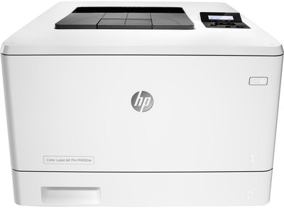 IMPRESORA LASER COLOR HP M452NW 27PPM PANTALLA LCD, USB, ETHERNET, WIFI, EPRINT, AIRPRINT, CLOUD PRINT TONER 410A / 410X