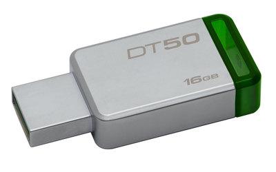 Kingston DataTraveler 50 - unidad flash USB - 16 GB