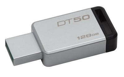 Kingston DataTraveler 50 - unidad flash USB - 128 GB