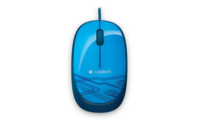 Logitech M105 - ratón - USB - azul
