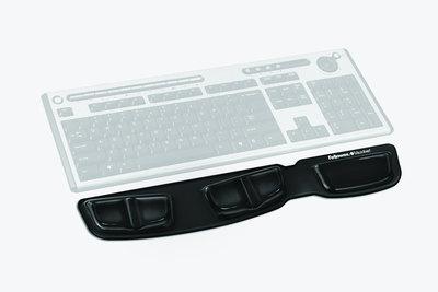 Fellowes Keyboard Palm Support plataforma para teclado con reposamuñecas