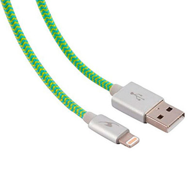CABLE LIGHTNING A USB(A) BLUESTORK TRENDY 1.2M