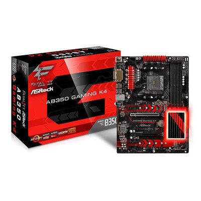 ASRock Fatal1ty AB350 Gaming K4 - placa base - ATX - Socket AM4 - AMD B350 FCH