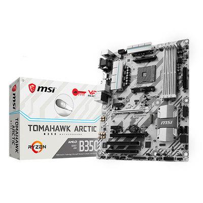 PLACA MSI B350 TOMAHAWK ARCTIC,AMD,AM4,B350