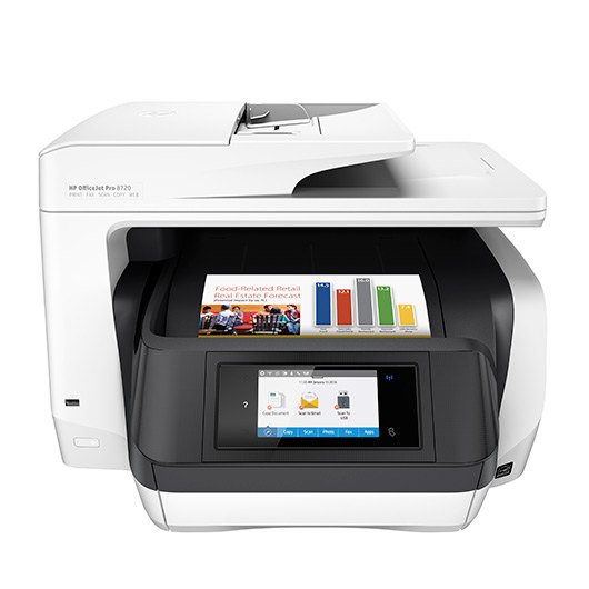 Impresora Hp Multifuncion Officejet Pro 8720