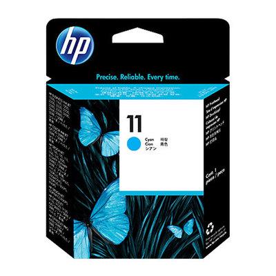 HP 11 - cian tintado - cabezal de impresión