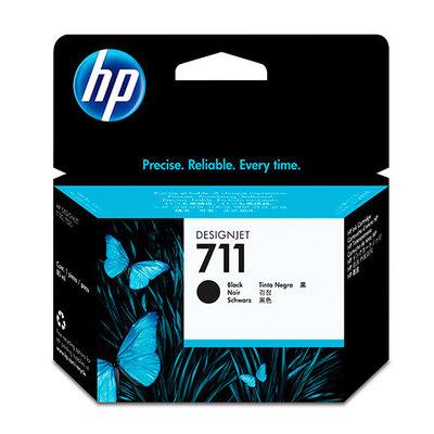 HP 711 - negro - original - cartucho de tinta