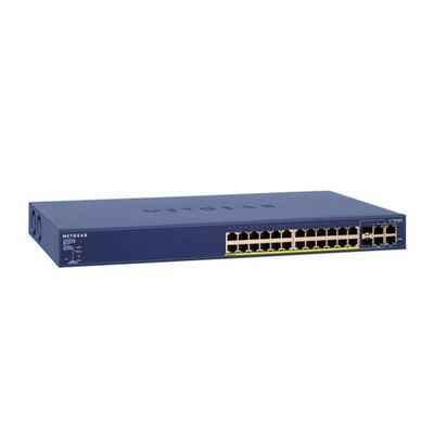 NETGEAR FS728TP - conmutador - 24 puertos - Gestionado - montaje en rack