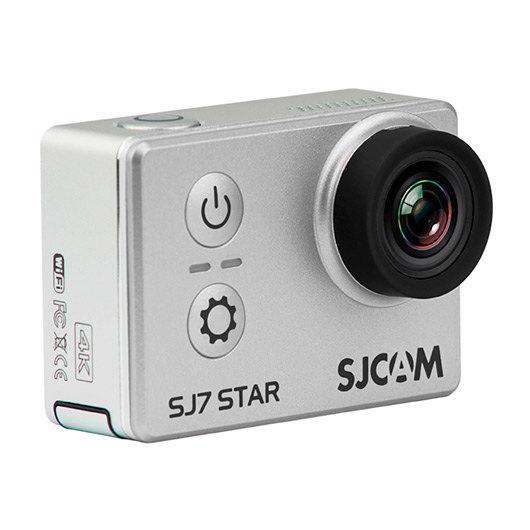 CAMARA VIDEO SJCAM SJ7 STAR 4K SILVER - 12MPX / 1000MAH / BLUETOOTH / PANTALLA 2  TACTIL / WIFI