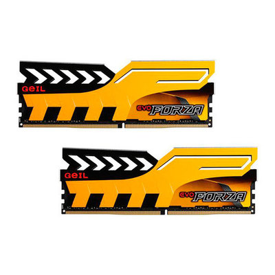 GeIL EVO Forza - DDR4 - 8 GB: 2 x 4 GB - DIMM de 288 espigas - sin búfer