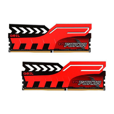 GeIL EVO Forza - DDR4 - 16 GB: 2 x 8 GB - DIMM de 288 espigas - sin búfer