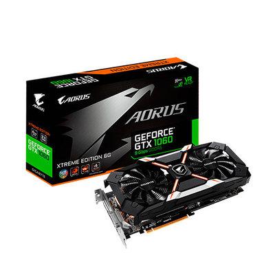 Gigabyte AORUS GeForce GTX 1060 Xtreme Edition 6G 9Gbps