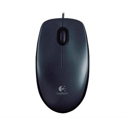 Logitech M100 - ratón - USB - negro