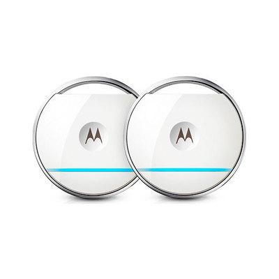 Motorola Focus Tag Twin Set - Paquete de 2 sensores con detección de movimiento (IP67, alcance de 50 - Motorola Focus Tag Twin Set - Paquete de 2 sensores con detección de movimiento (IP67, alcance de 50 m, CR2032) color blanco Motorola Seguridad y videovigilancia 101620200001