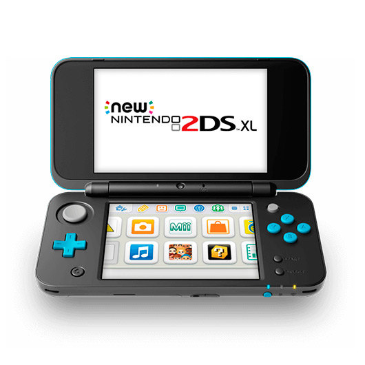 Consola Nintendo New 2Ds Xl Negra/Turquesa