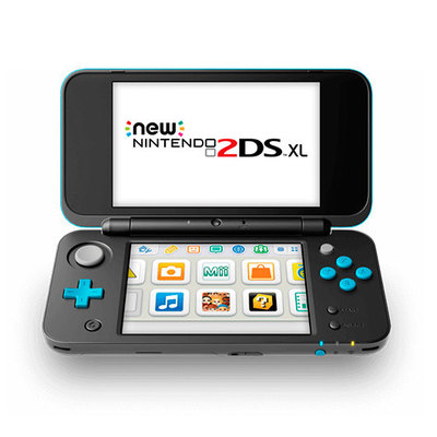 New Nintendo 2DS XL - videoconsola portátil - negro, turquesa