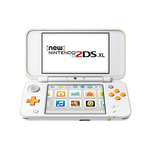 Consola Nintendo New 2Ds Xl Blanca/Naranja