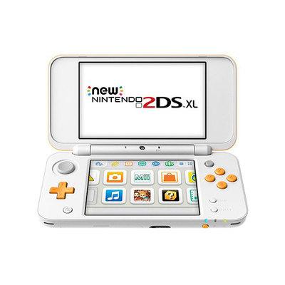 New Nintendo 2DS XL - videoconsola portátil - blanco, naranja