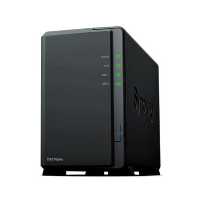 Synology Disk Station DS216play - servidor NAS - 0 GB