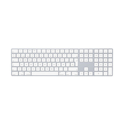 Apple Magic Keyboard with Numeric Keypad - teclado - Español - plata