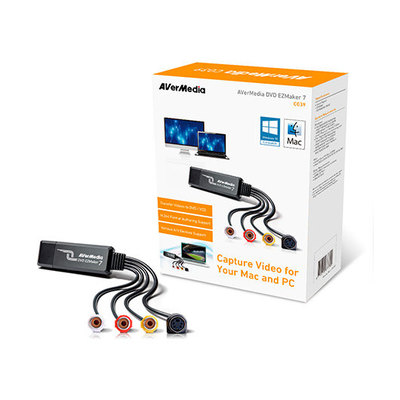 AVerMedia DVD EZMaker 7 - adaptador de captura de vídeo - USB 2.0