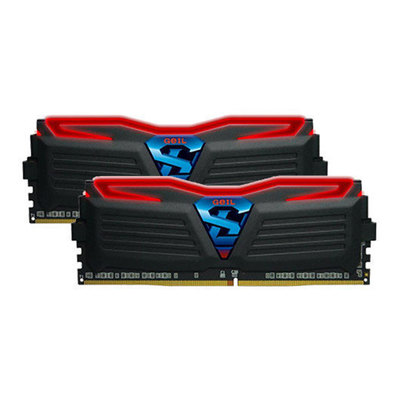 GeIL SUPER LUCE - DDR4 - 16 GB: 2 x 8 GB - DIMM de 288 espigas - sin búfer