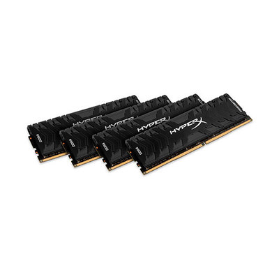 HyperX Predator - DDR4 - 32 GB: 4 x 8 GB - DIMM de 288 espigas - sin búfer