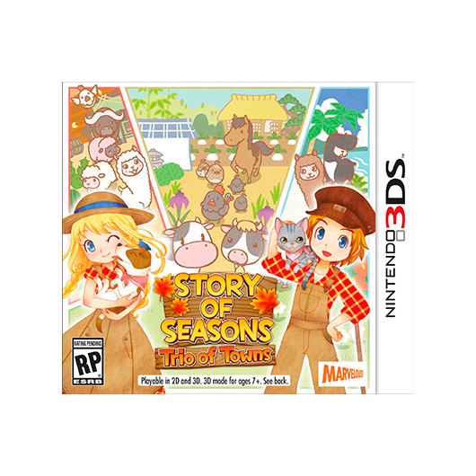 JUEGO NINTENDO 3DS STORY OF SEASON: TRIO OF TOWNS