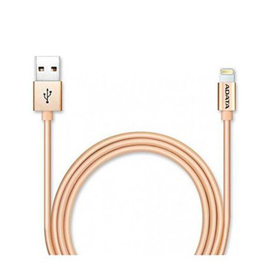 CABLE LIGHTING+MICRO USB (B) A USB ADATA 1M DORADO
