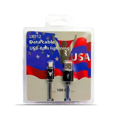 CABLE USB(A) A LIGHTNING LEADERINMY LMY12