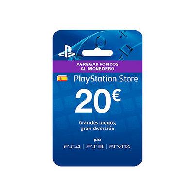 PLAYSTATION LIVE CARDS HANG 20 EUR