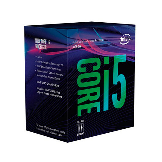 PROCESADOR INTEL 1151-8G I5-8600K 6X3.6GHZ/ 9MB BOX