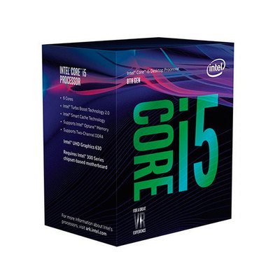 Intel Core i5 8600K / 3.6 GHz procesador