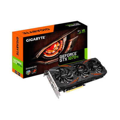 Gigabyte GeForce GTX 1070 Ti Gaming 8G - tarjeta gráfica - GF GTX 1070 Ti - 8 GB