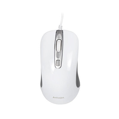 RATON OPTICO ACTIVEJET AMY-360 BLANCO